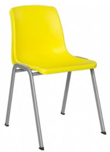 Powerful Plastic Stacking Chair (EY-139D) pictures & photos