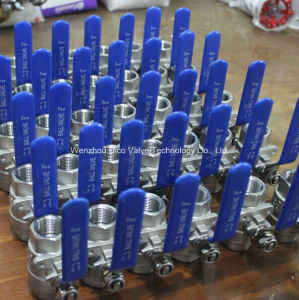 2PC High Pressure Ball Valve with Ce Certificate pictures & photos