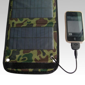Folding Portable USB Mobile Phone Solar Panel Charger pictures & photos