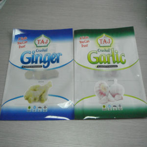 3sides Seal Plastic Bag for Frozen Vegetable Package pictures & photos