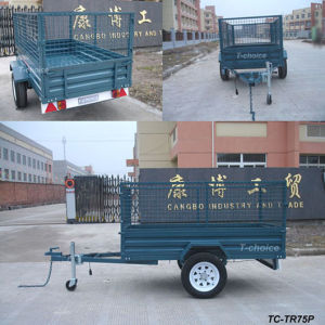 Powder Coated Cage Trailer