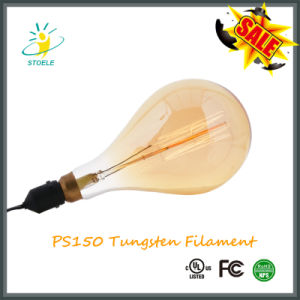 PS150 Bulb Incandescent Lamp E40 Base Edison Style Tungsten Filament Bulb