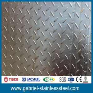 304 Checkered Stainless Steel Plate Price List pictures & photos