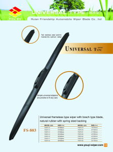 Frameless Wiper Blade (FS-803) pictures & photos