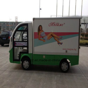 Low Speed Battery Operated Electric Van pictures & photos