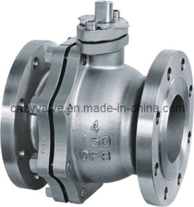 API/ANSI Hard Sealing Flanged Floating Ball Valve pictures & photos