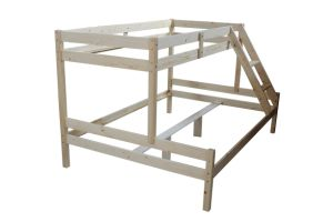 Pine Wood Simple Bunk Bed (XJBED102)