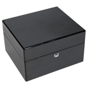 Black High Glossy Wooden Watch Box pictures & photos