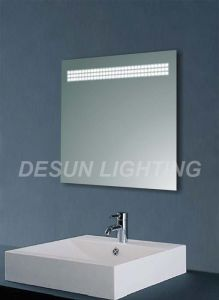 Lighted Mirror with Sensor Switch