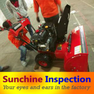 Snow Sweeper Quality Control Inspection Service / First Article Inspection / During Production Inspection / Pre-Shipment Inspection pictures & photos