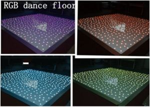 LED RGB 3in1 Dancing Floor/LED Starlit Twinkling Floor pictures & photos
