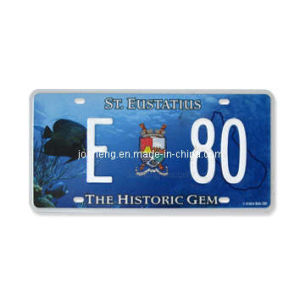 St Eustatius License Plate (JS00StE) pictures & photos