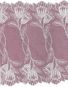 China Mesh Voile Swiss Embroidery Lace - China Embroidery Lace Wate-Soluble Embroidery Lace