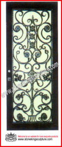 Wrought Iron Door/ Iron Entrance Door pictures & photos