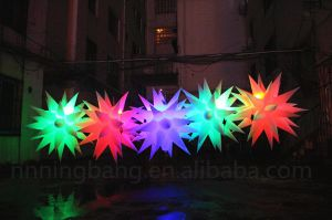 Diameter 1.5m Inflatable Star for Wedding Decoration