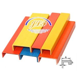 Fiberglass Beam Channel for FRP Ladder pictures & photos