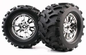 1/8 Monster Truck Tire (Mechanix/Split-V) (WC1008)