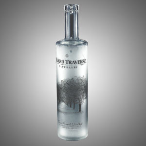 Tope Quality Vodka Glass Bottle (750ML/1000ML) pictures & photos