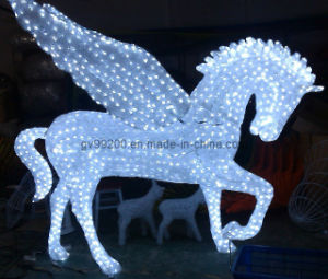 3D Acrylic Light (BW-SC-202) Fly Horse Holiday Lights as High Class Place Decoration pictures & photos
