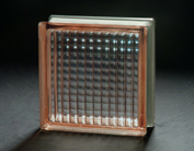 190*190*80mm Pink Parallel Glass Block pictures & photos