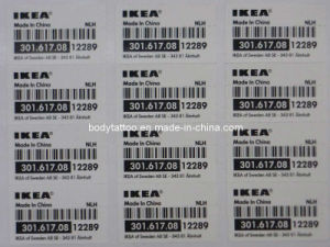 A Grade Bar Code Label