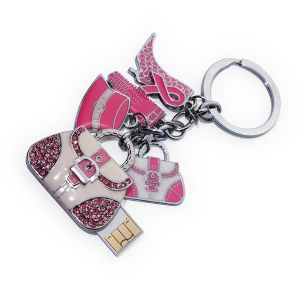 Handbag Shape Jewelry USB Flash Drive, USB2.0