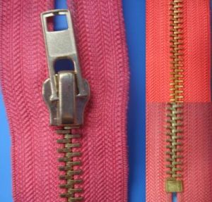 Durable Metal Zipper pictures & photos