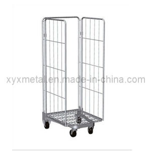 Classic Style Foldable Roll Cart Hand Pallet Roll Container pictures & photos