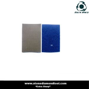 Hand Pad Diamond Electroplated Sand Paper pictures & photos