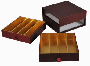 High Quality Hot Paper Chocolate Box /Chocolate Gift Box (YY--B0008) pictures & photos