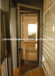Security Aluminum Casement Door for Australia (YK-SD)