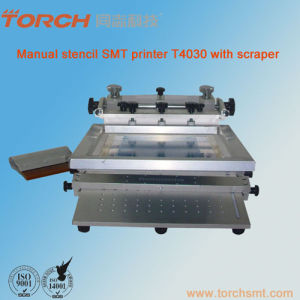 SMT Manual Stencil Printer T4030 pictures & photos