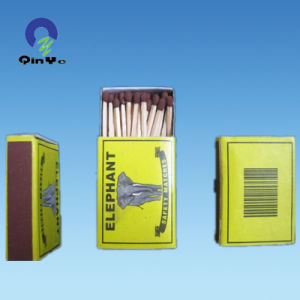 Phosphrous Material Color Match Head Chinese Safety Matches pictures & photos