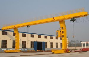 Single Beam Gantry Crane with Electric Hoist (L shape)