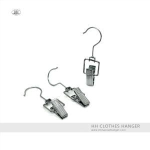 Wholesale Swivel Hook Metal Boots Cloth Hanger Clip, Metal Clips Hanger pictures & photos