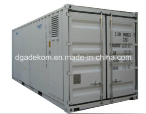 Containerized System Rotary Screw Air Compressor with Air Dryer (KCCASS-11*2) pictures & photos