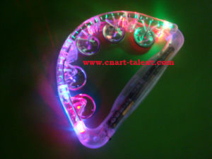 Flashing Lighting Tambourine (TM-104) pictures & photos