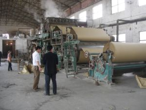 Paper Machine Line, Kraft Paper Machine Plant, Kraft Mill pictures & photos