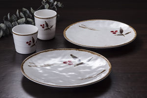 "100% 7""Melamine Tableware/Melamine Round Plate/Dinner Plate (JB13807-07) pictures & photos"