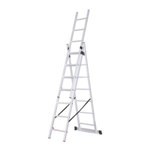 En131 Approved 3*7 Aluminum Extension Ladder pictures & photos