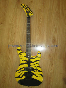 Stncil Plate Top 5150 Electric Guitar pictures & photos