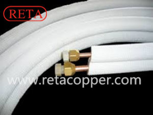 Refrigeration Pair Insulation Copper Tube pictures & photos