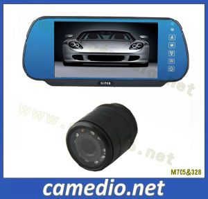 Car Reversing Camera Mirror Systems with 7 Inch Mirror Monitor pictures & photos