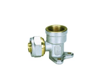 Pipe Fittings of Female Elbow with Wallplate pictures & photos