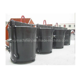 Hot Metal Ladle for Melting Steel Cast Machine pictures & photos