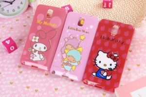 New Lovely 3D Cartoon Hello Kitty TPU Soft Case for Samsung Note3