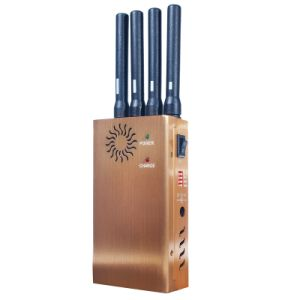 2015 New Design Portable 4 Bands CDMA 3G GSM GPS Cellphone Signal Jammer pictures & photos