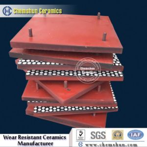 Composite Rubber Ceramic Wear Liner as Industrial Linings pictures & photos