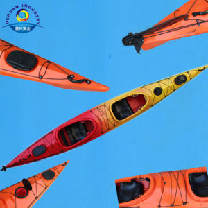 Professional Double Seats Surfing Kayak with Rudder pictures & photos