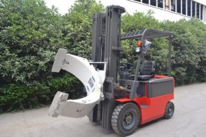 3 T Electric Forklift Truck with Clap pictures & photos
